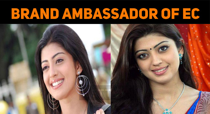 Pranitha Subhash Continues As The Brand Ambassador Of EC!