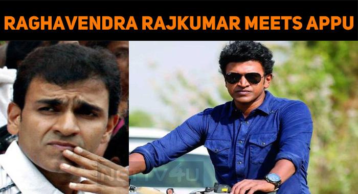 Raghavendra Rajkumar In Yuva Ratnaa Sets!