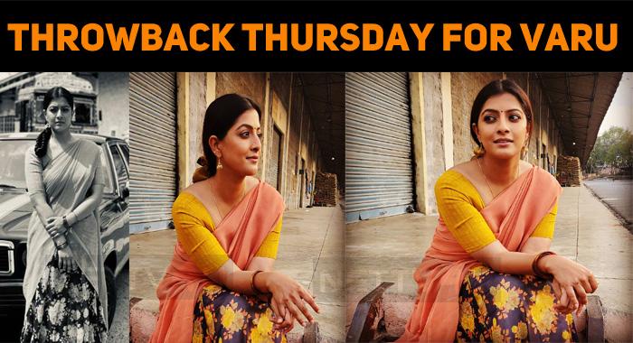It's A Throwback Thursday For Varalaxmi Sarathkumar!