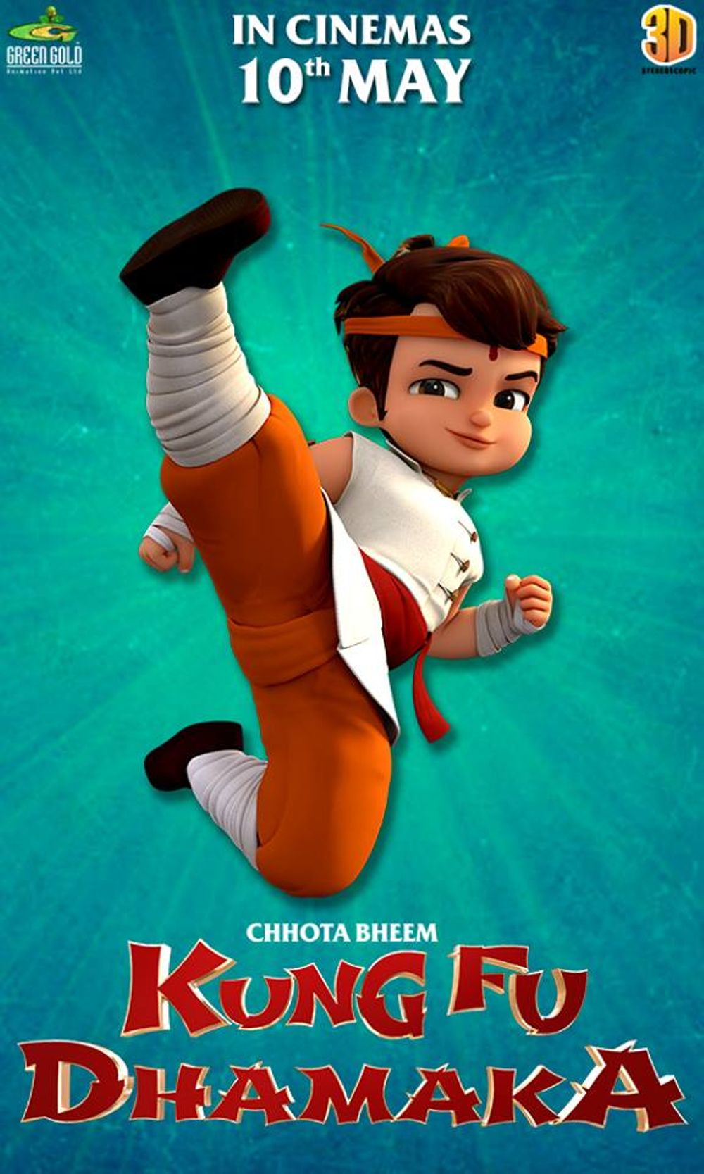 Chhota Bheem: Kung Fu Dhamaka Movie Review English Movie Review