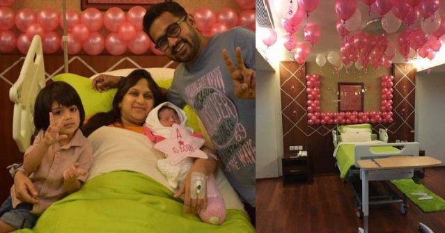 Mollywood Star Decorated The Hospital For His Daughter!