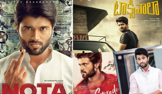 Vijay Deverakonda Has A Steady Rise To Fame