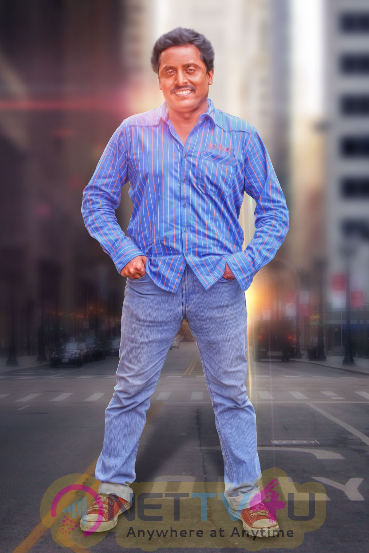 Actor Raja Ganapathi Good Looking Stills Tamil Gallery