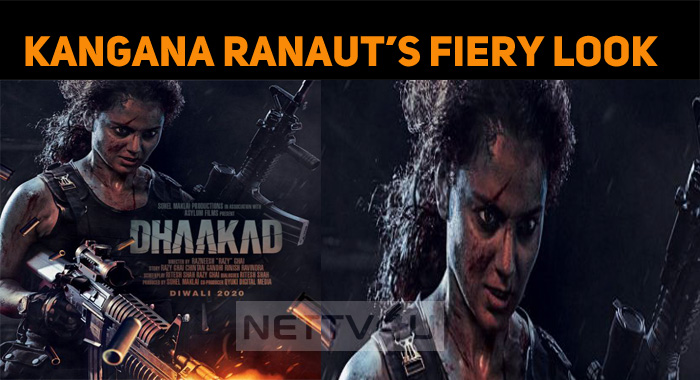 Kangana Ranaut's Fiery Look In Dhaakad!