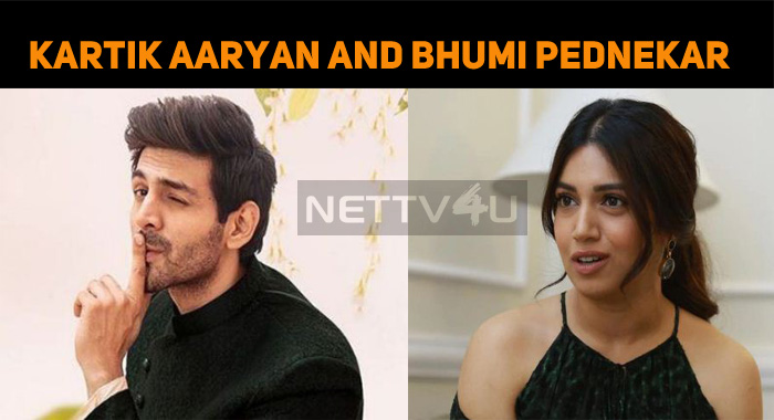 Kartik Aaryan And Bhumi Pednekar Share The Scre..
