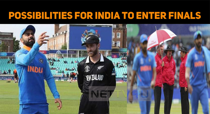 What If Today's Ind Vs NZ Play Gets Washed Away? Will India Qualify For The Finals?