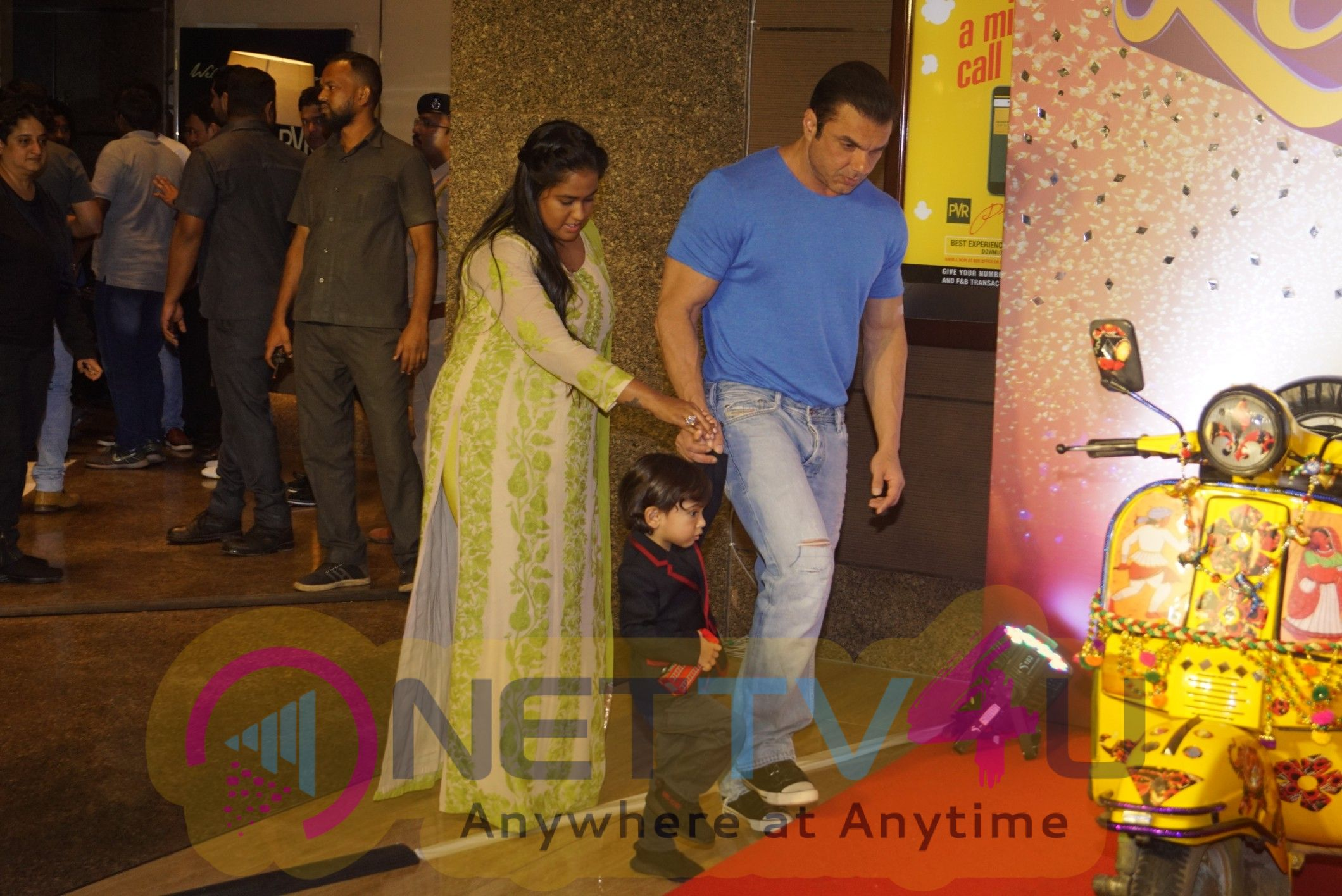 Trailer Launch Of Film Loveratri In Pvr Kurla Market City Images Hindi Gallery