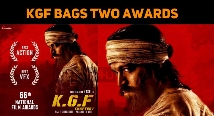 KGF Bags Two National Awards!