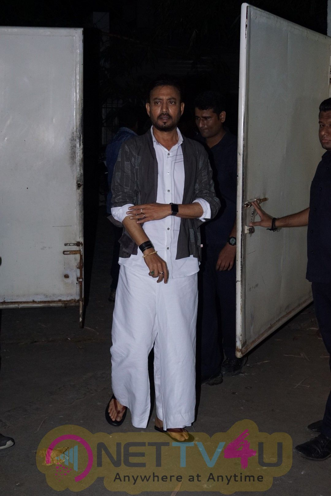 Irrfan Khan At Special Screening Of Film Qarib Qarib Singlle Pics