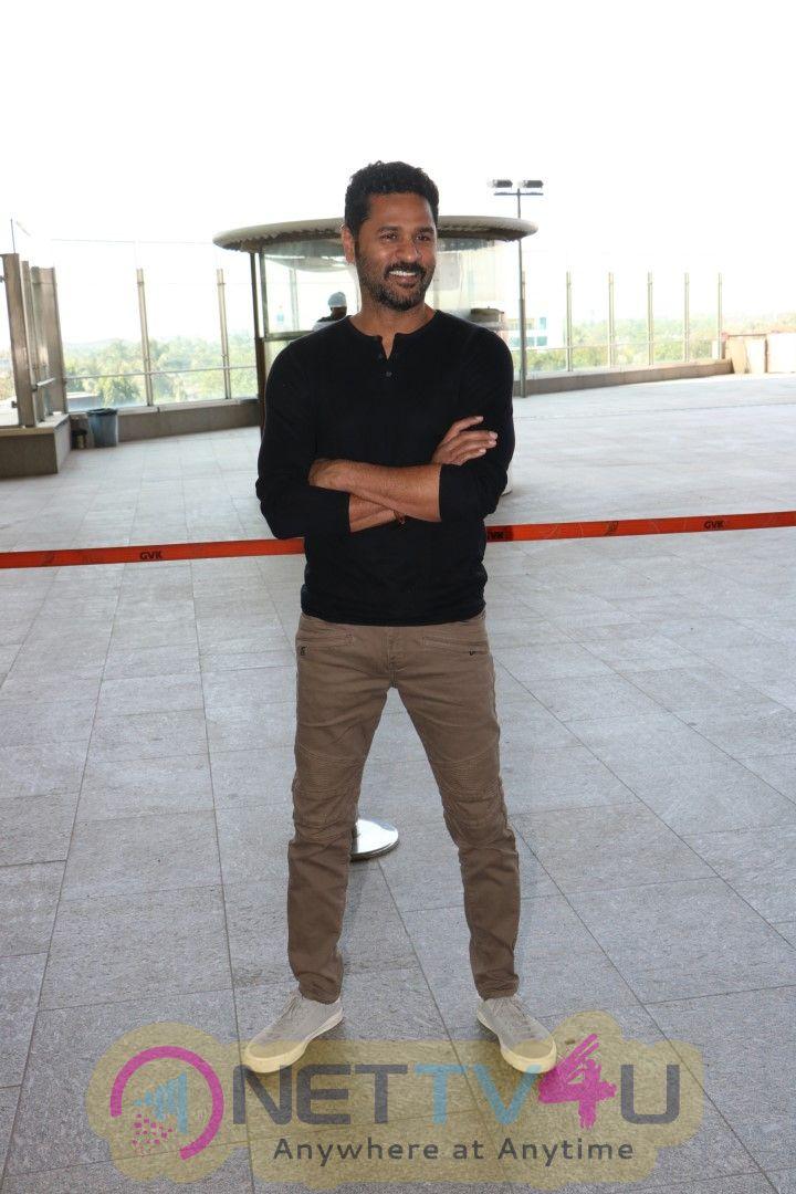Prabhu Deva Spotted At International Airport Images