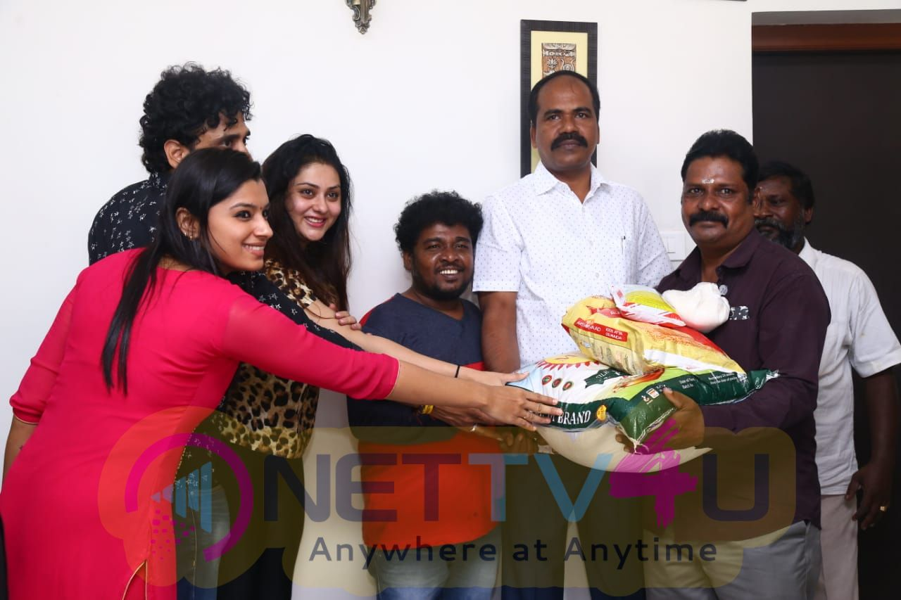 Aham Bhavam Movie Team Diwali Celebrate Pics Tamil Gallery