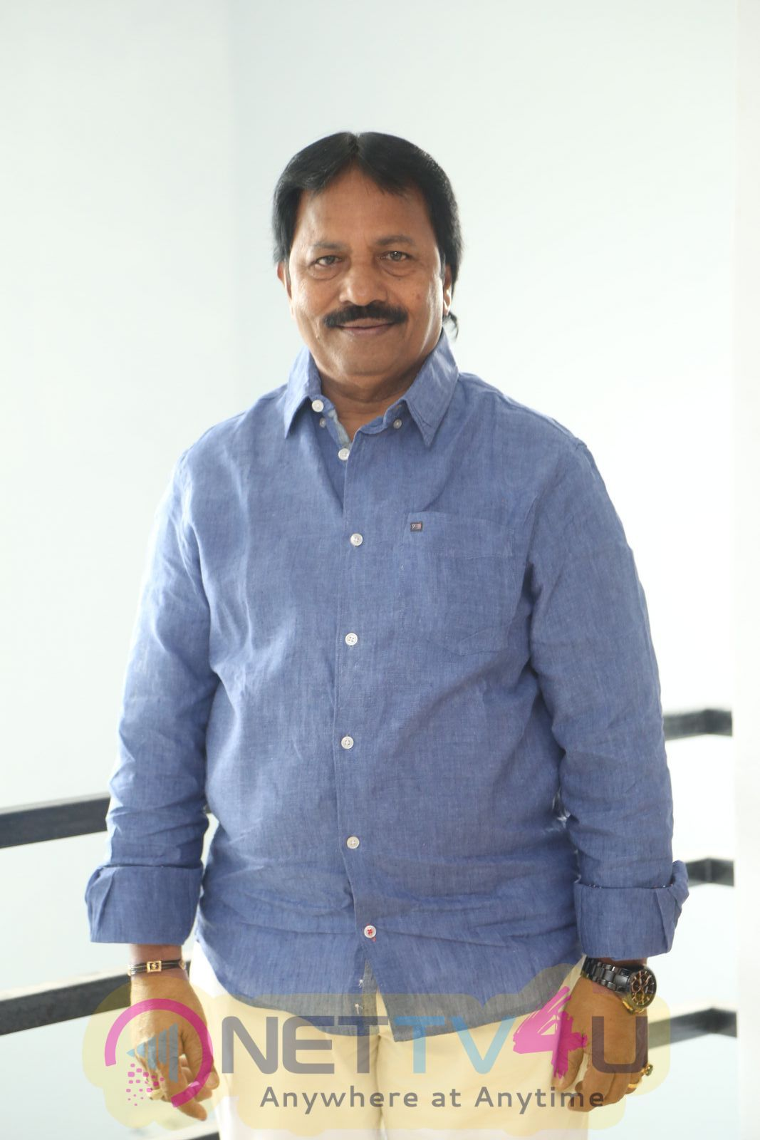 Film Producer A M Rathnam Interview Stills