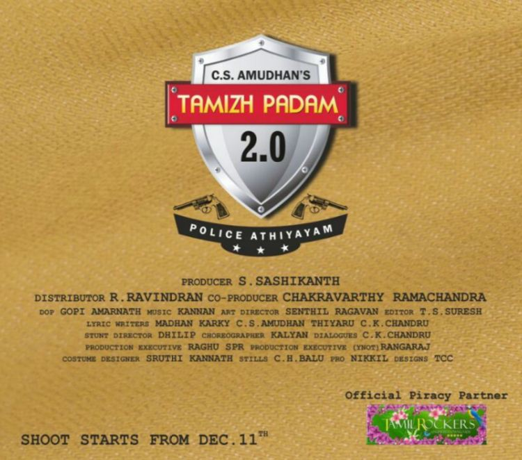 Shiva's Tamil Padam Poster Has A Special Information!