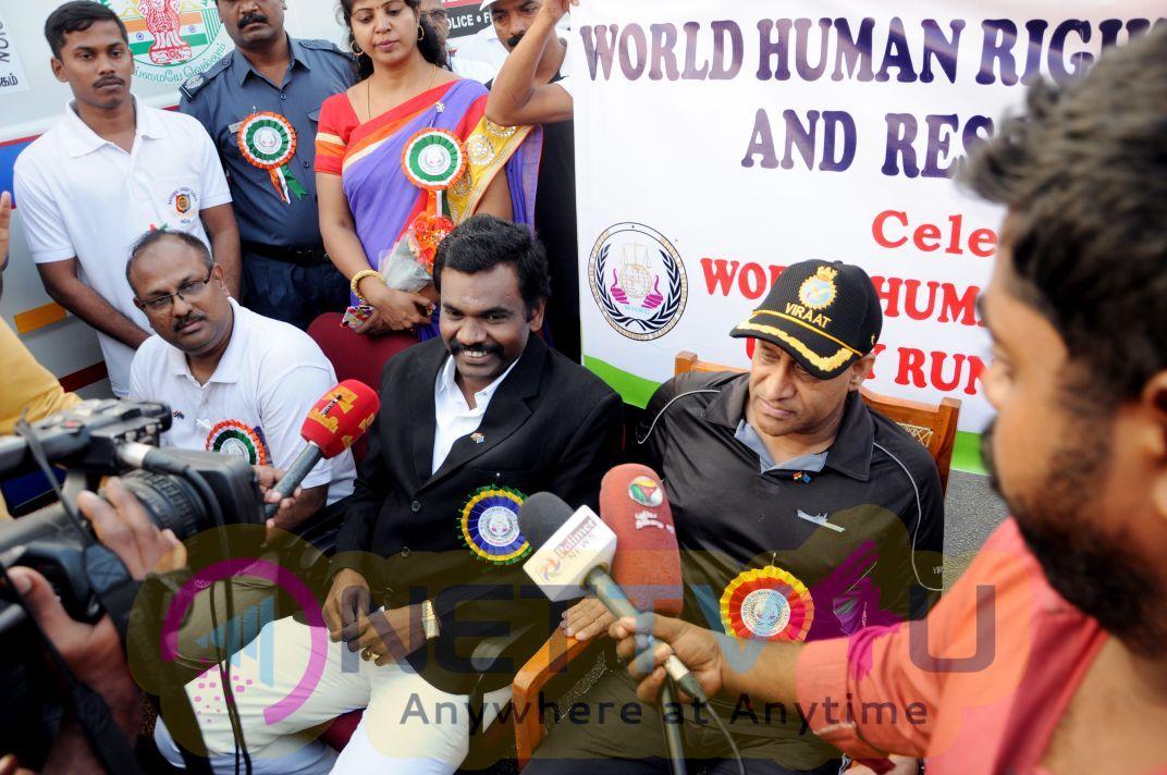 Unity Run Marathon Held For World Human Rights Day Celebration Stills
