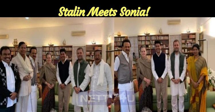 Stalin Meets Sonia!