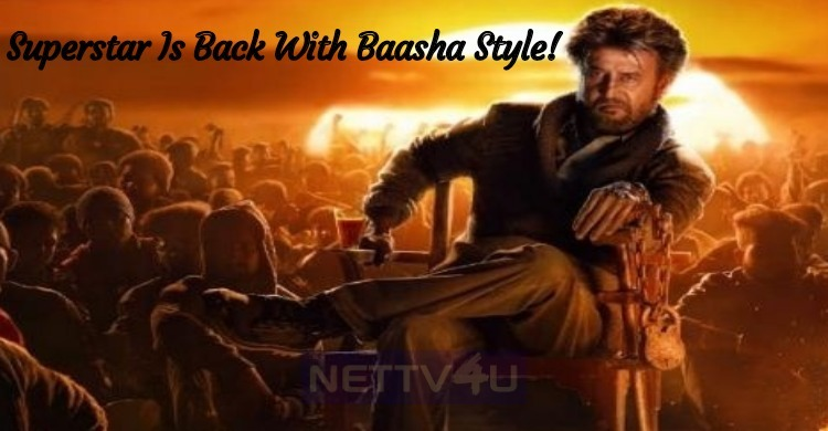 Superstar Is Back With Baasha Style!