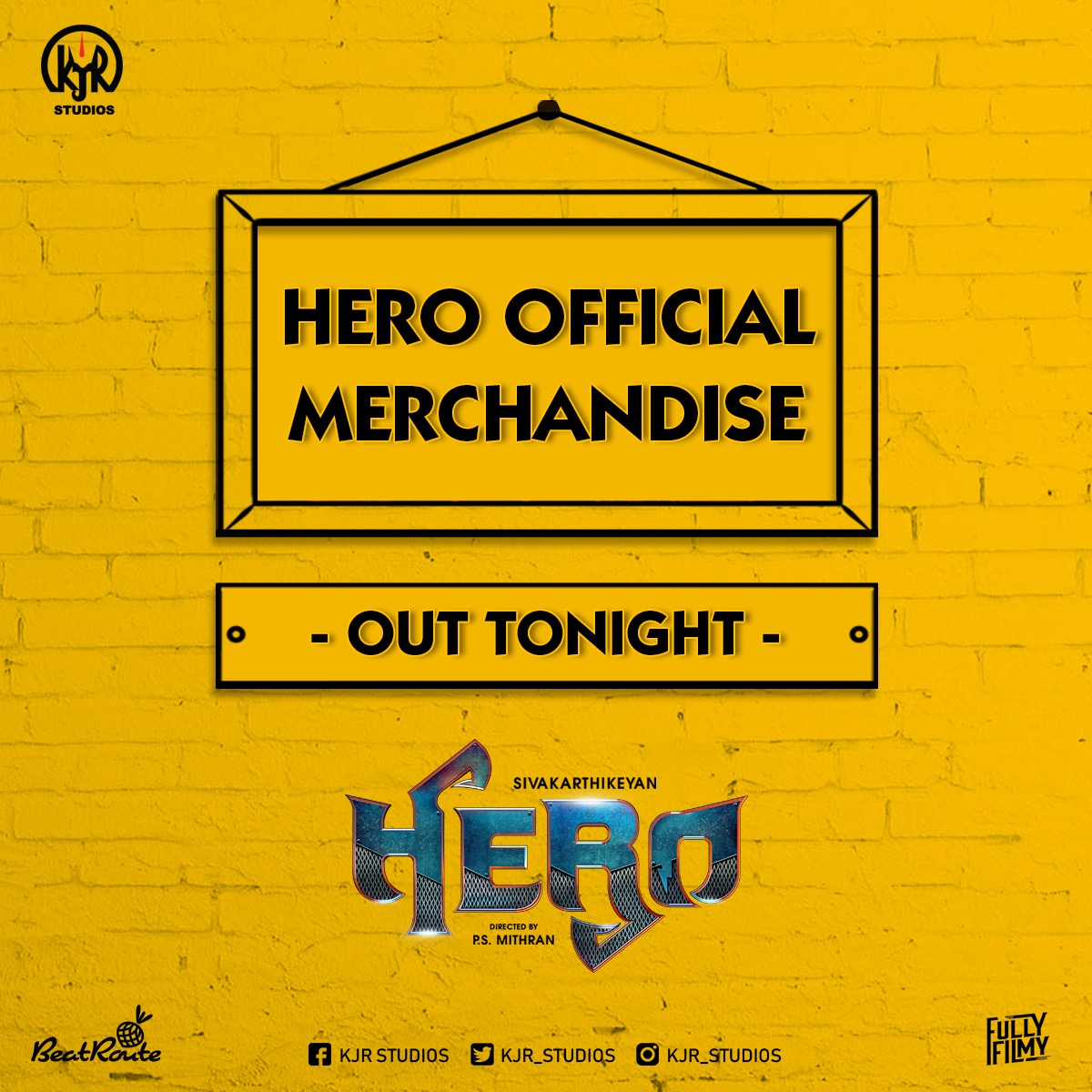 Hero Merchandise To Be Out!