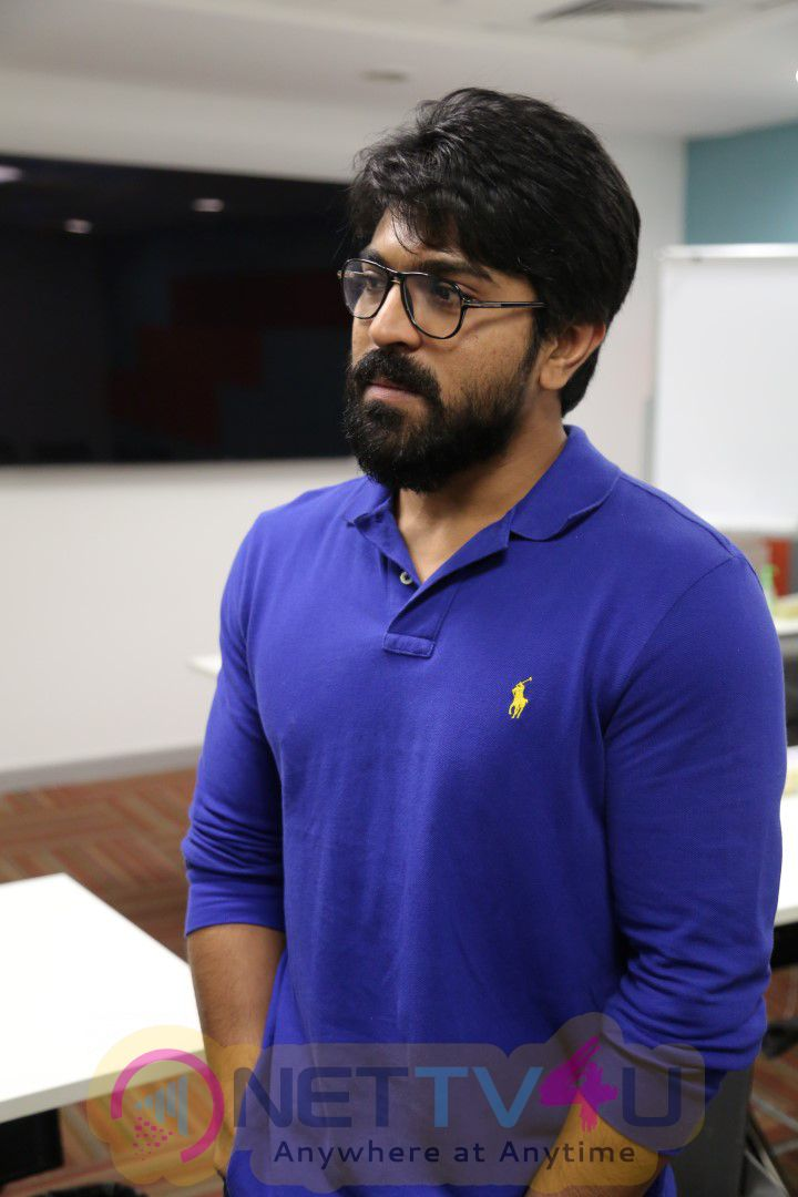 Mega Power Star Ram Charan's Facebook Office Visit Photos