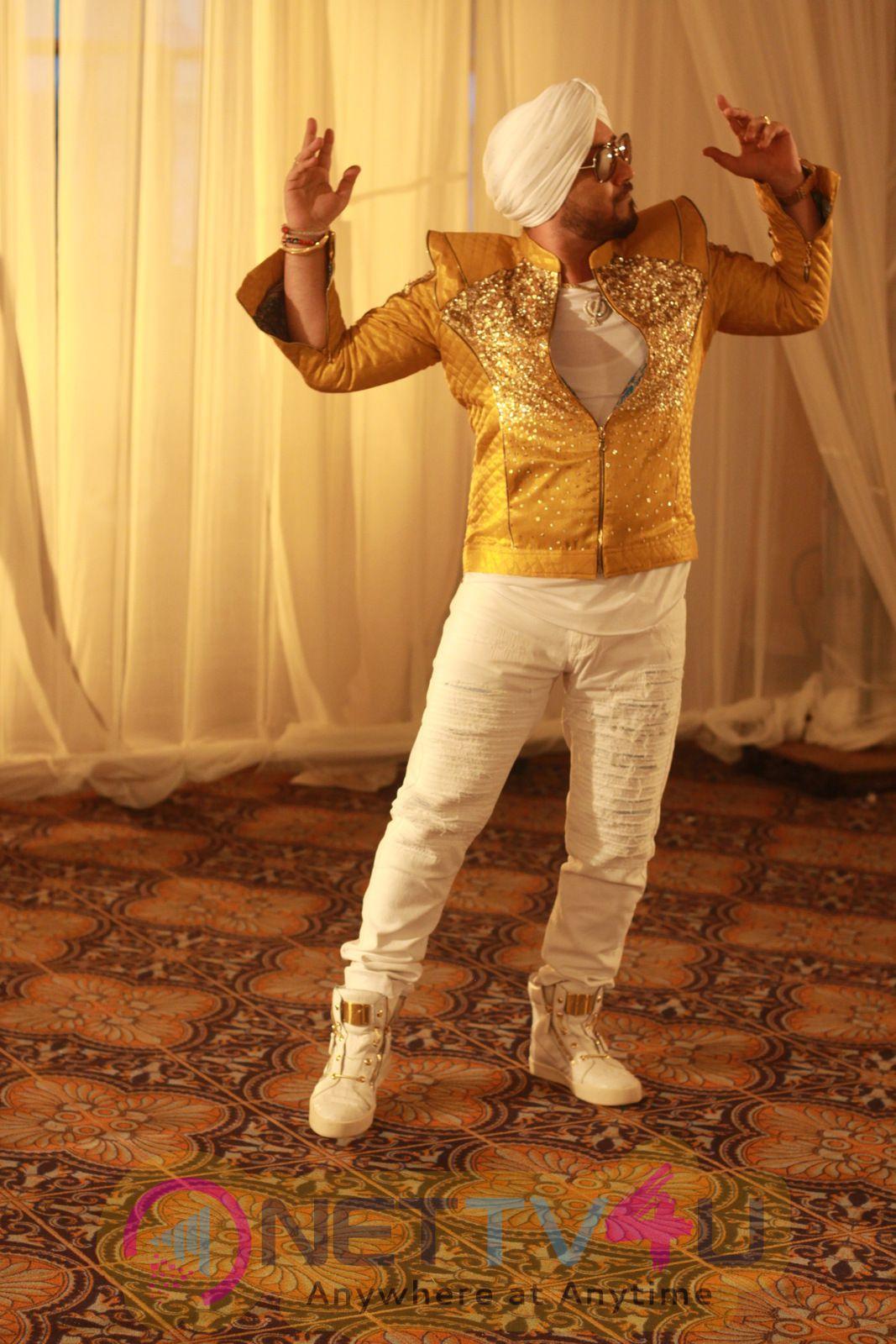 Punjabi Singer Dilbagh Singh & Swedish Actress Ellie Avram Photos Hindi Gallery