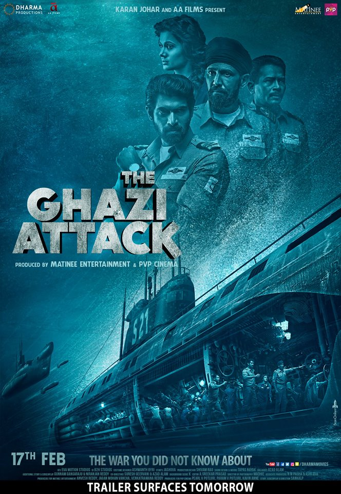 The Ghazi Attack Movie Review Telugu Movie Review