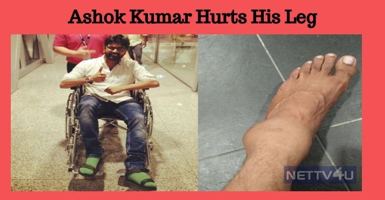 After Aari, Ashok Hurts His Leg!