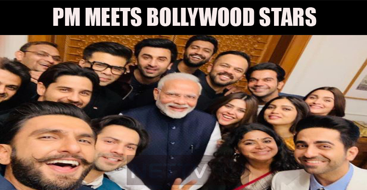 PM Meets Bollywood Stars!