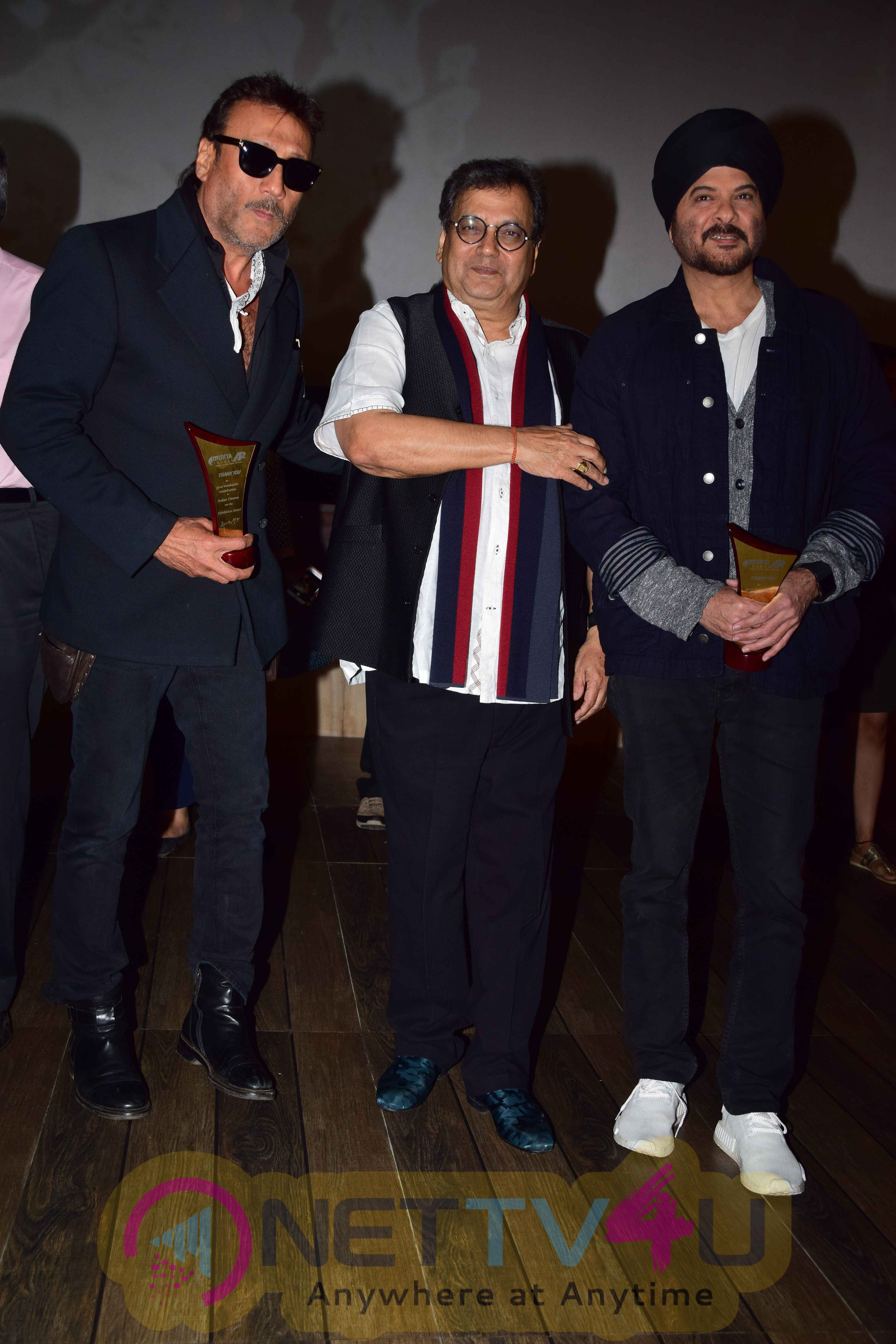 Anil Kapoor & Jackie Shroff At Launch Of New Excelsior Mukta Cinemas Recent Images
