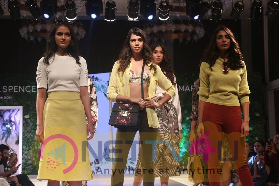 Esha Gupta & Ali Fazal On Ramp For Marka & Spencer