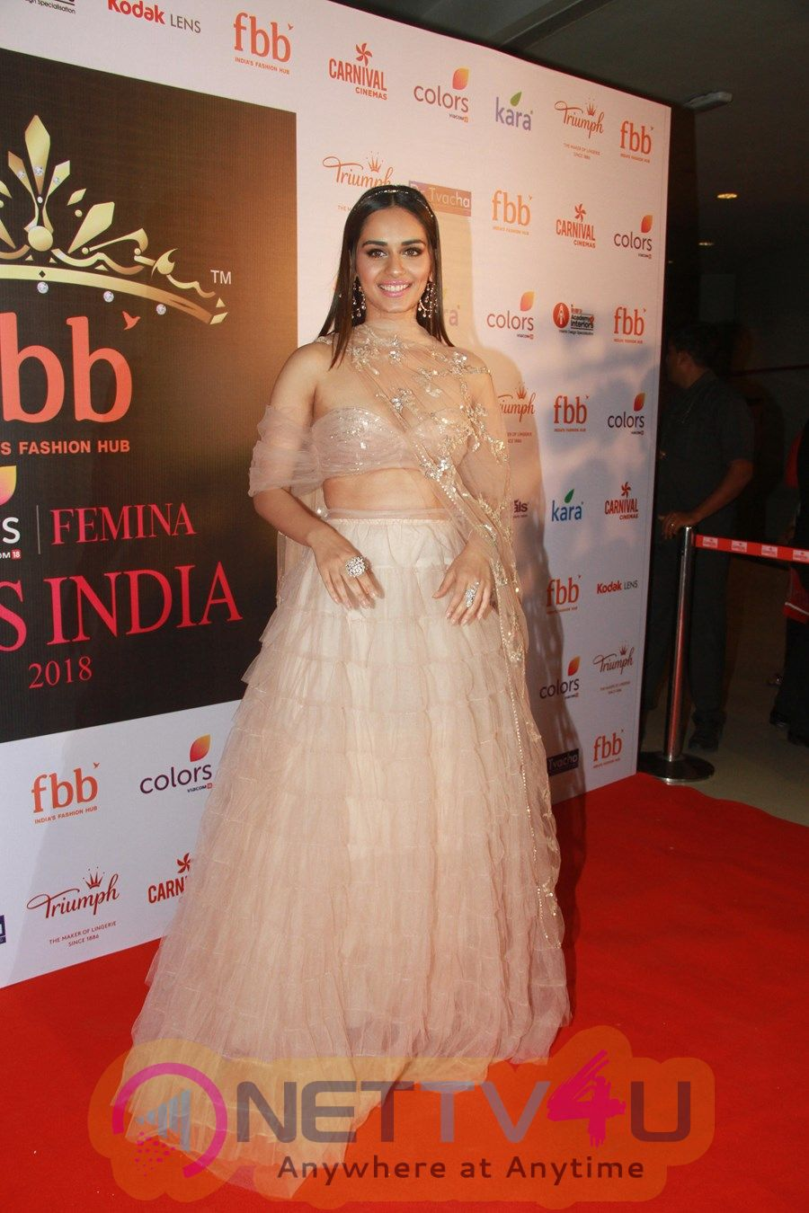 Femina Miss India Conference With Manushi Chhillar
