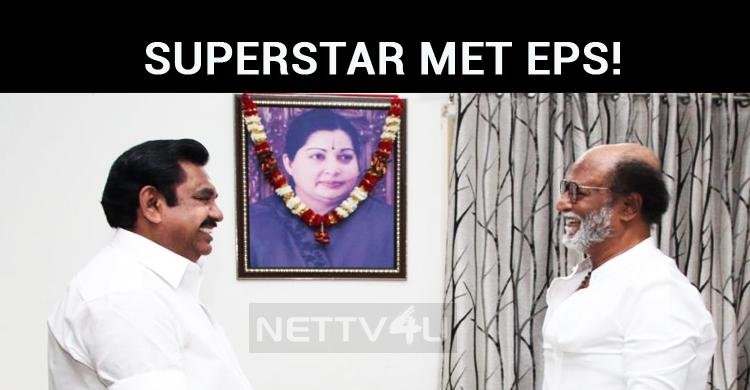 Superstar Met Edappadi Palaniswami!