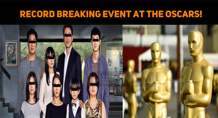 Record-Breaking Event At The Oscars!