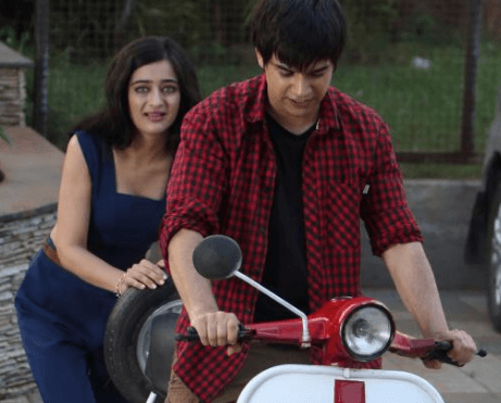 Vivaan Shah Dotes The Scooter Ride