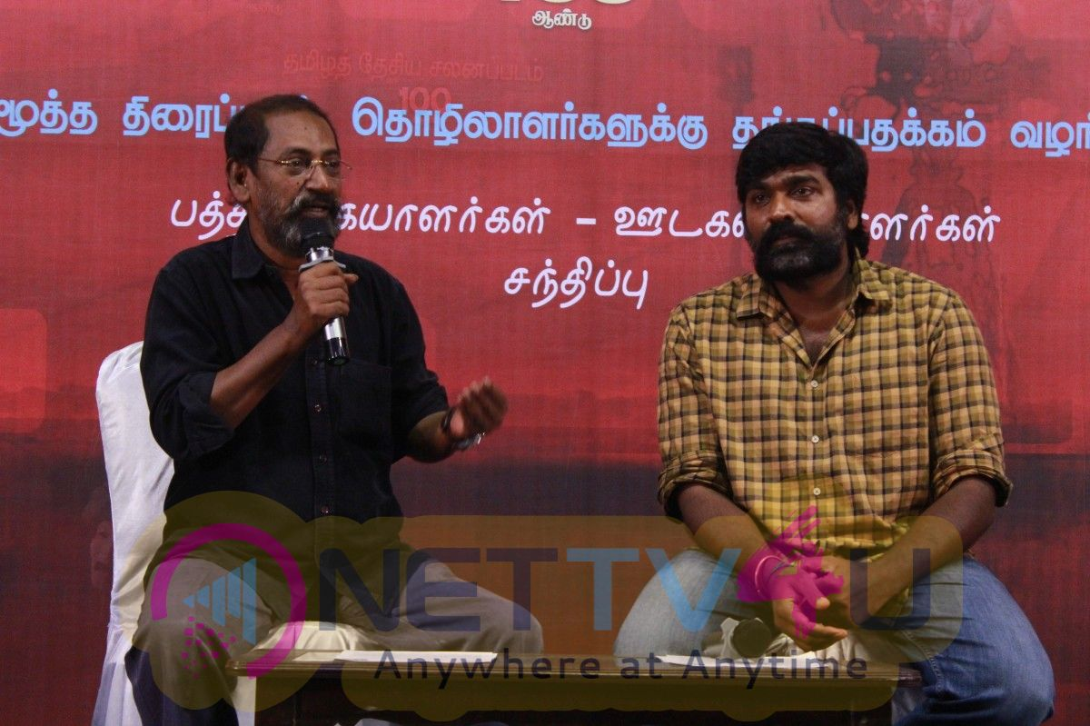Director SP Jananathan Pressmeet Stills