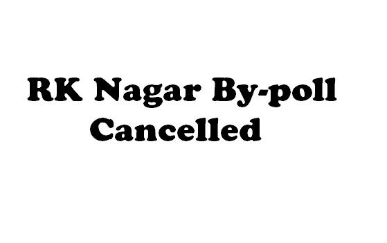 RK Nagar Election Cancelled! Details About The ..