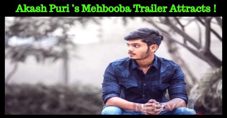 Akash Puri's Mehbooba Trailer Grabs Public Atte..