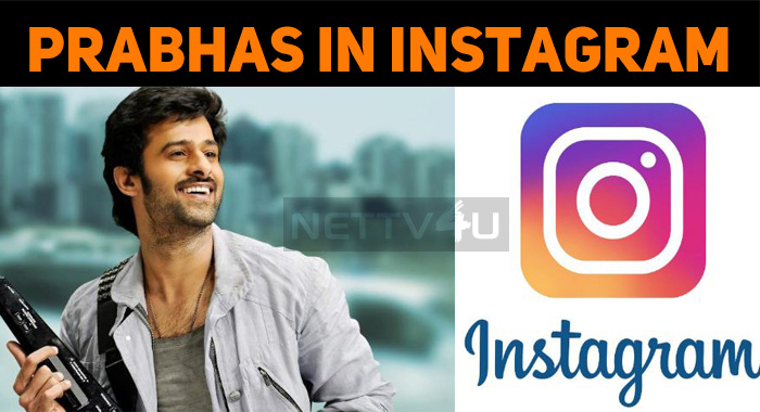 Prabhas Joins Instagram!