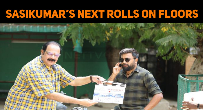 Sasikumar's Next Started Rolling In Chennai!