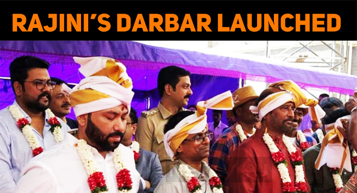 Superstar's Darbar Launched!