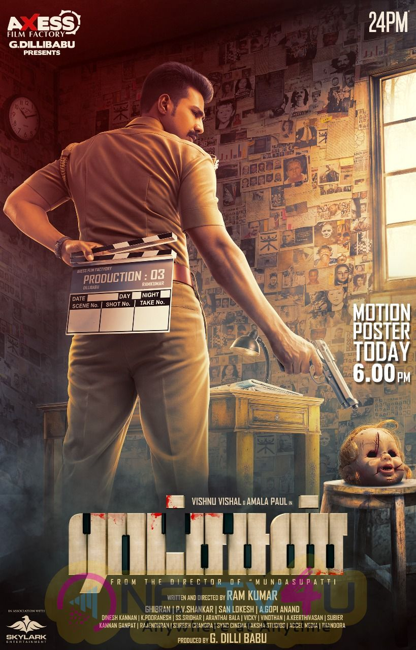 Raatchasan Movie Poster