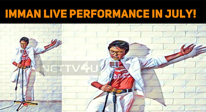 Imman Live Performance In July!