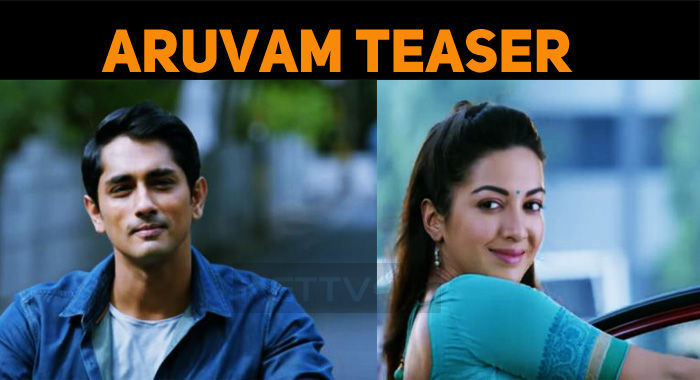Stylish Siddharth In Aruvam Teaser!