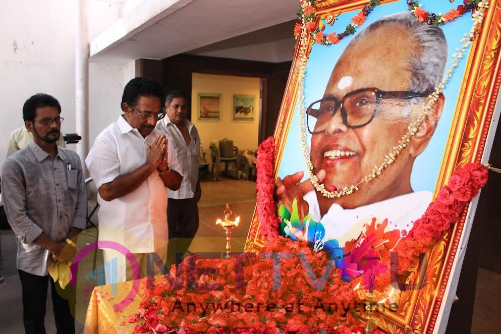 Stills Of K Balachander 87th Birthday Celebration At AVM Theatre