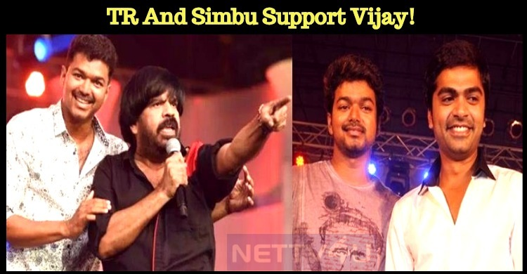 T Rajendar And Simbu Raise Voice For Vijay!