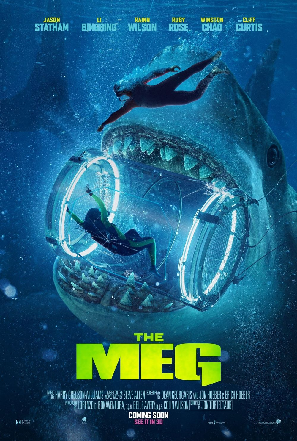 The Meg Movie Review English Movie Review