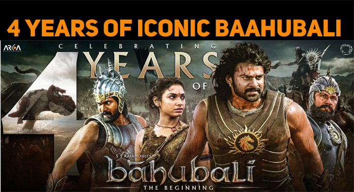 Baahubali Celebrates Four Years Of Success!