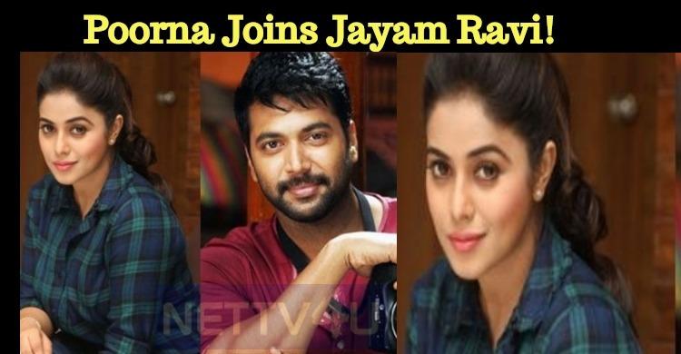 Poorna Joins Jayam Ravi!