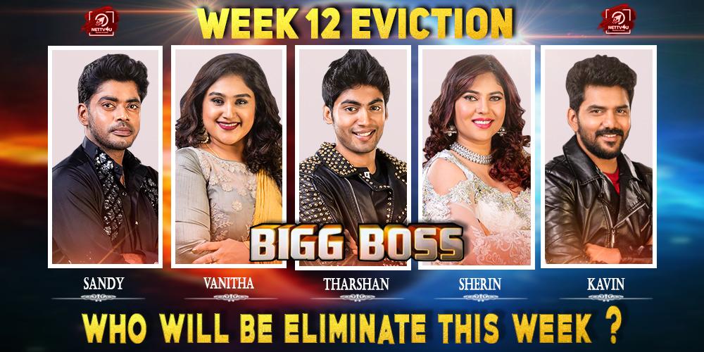 Bigg Boss Season 3 - Tamil - Week(12) Elimination