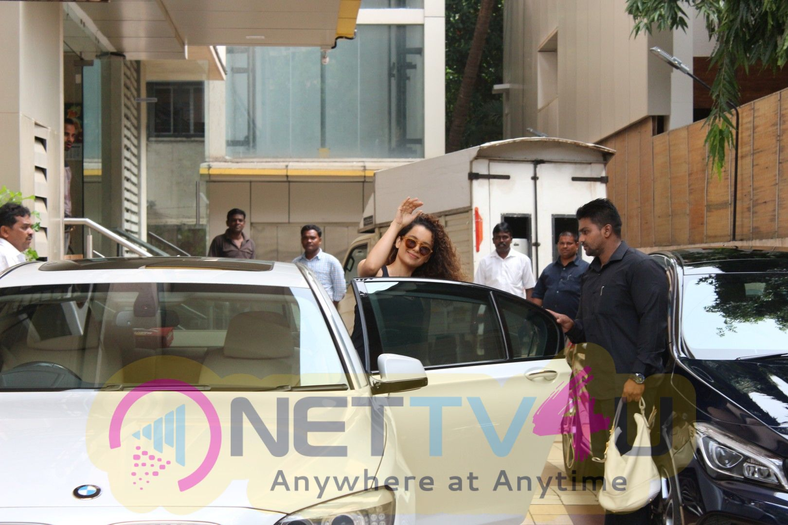 Actress Kangana Ranaut Spotted During Her Sword Fighting Training At Arts In Motion Studios Images