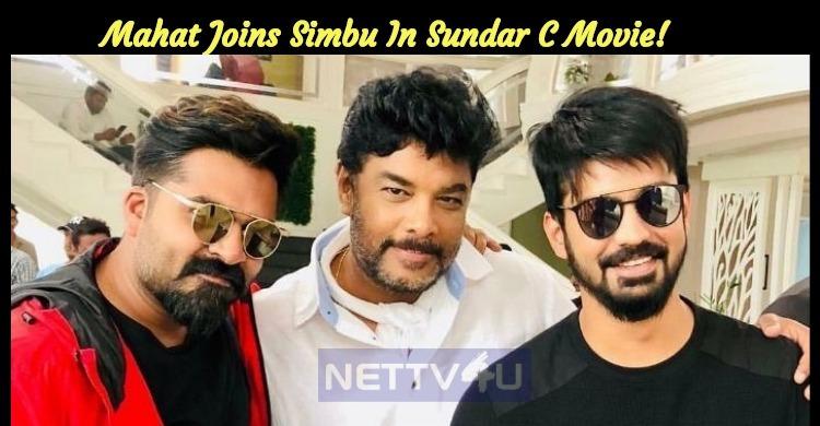 Mahat Joins Simbu In Sundar C Movie!