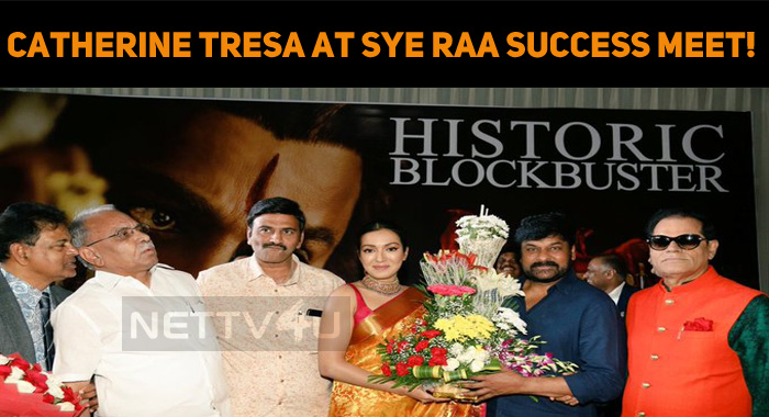 Catherine Tresa At Sye Raa Narasimha Reddy Success Meet!